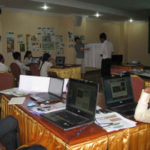 Participants during workshop