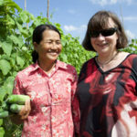 Dr Suzie Newman, DPI NSW, will present on her experiences working with vegetable farmers, like Mrs Saron, in Cambodia