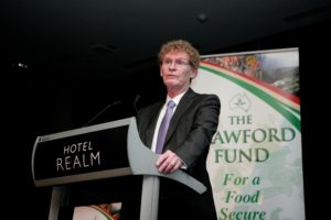 Dr Cary Fowler, presenting the Crawford Fund 2015 Memorial Address, Canberra